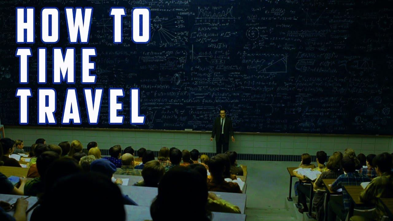 How To Time Travel - Bruce Goldberg - YouTube