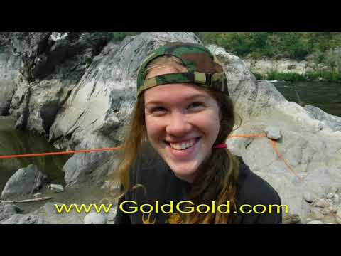 Electronic Gold Prospecting 2017 -  Found first nugget