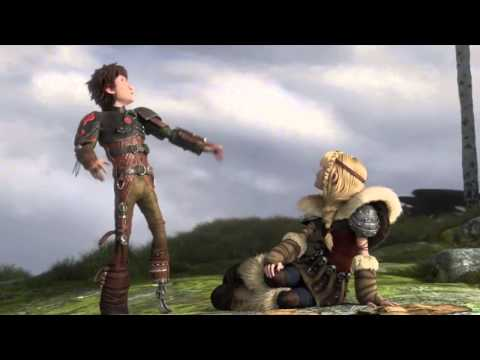 How To Train Your Dragon Hiccup And Astrid Scene