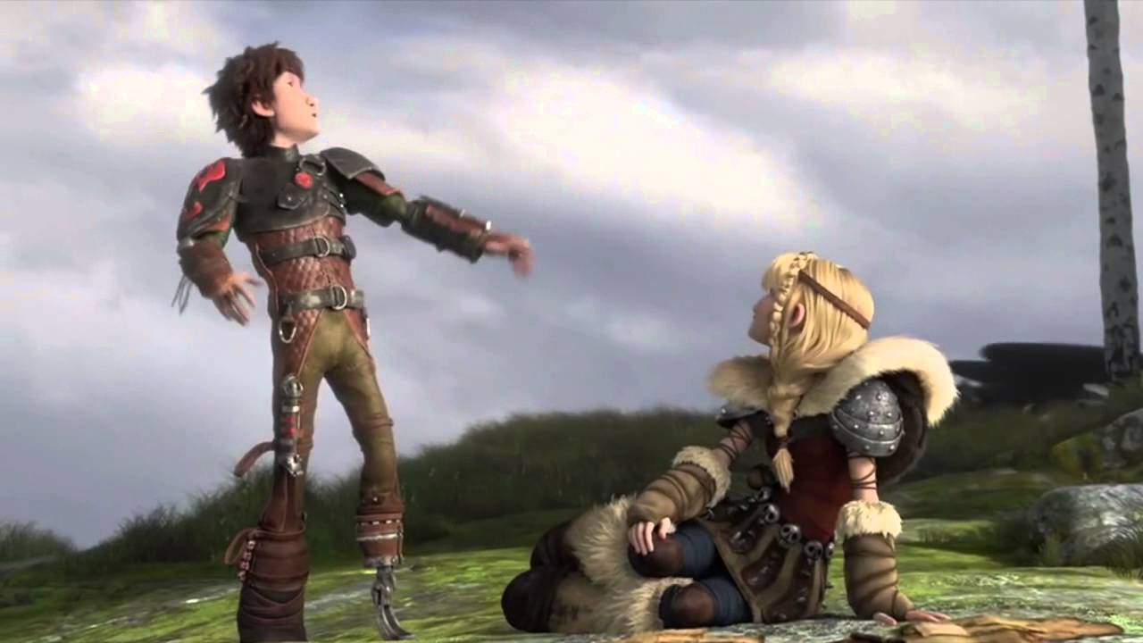 To train your dragon astrid naked
