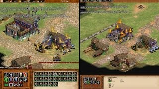 Age of Empires 2 HD Edition - Grafikvergleich mit dem Original