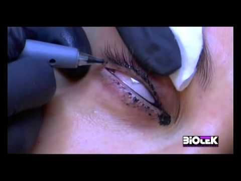 Biotek Makijaż Permanentny Oczu Delikatnie I Pięknie Podkreślone