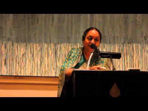 Hindi Kavita by Indian Parliament-Lok Sabha Speaker -Meira Kumar- Hai Tumhari Palkon Par