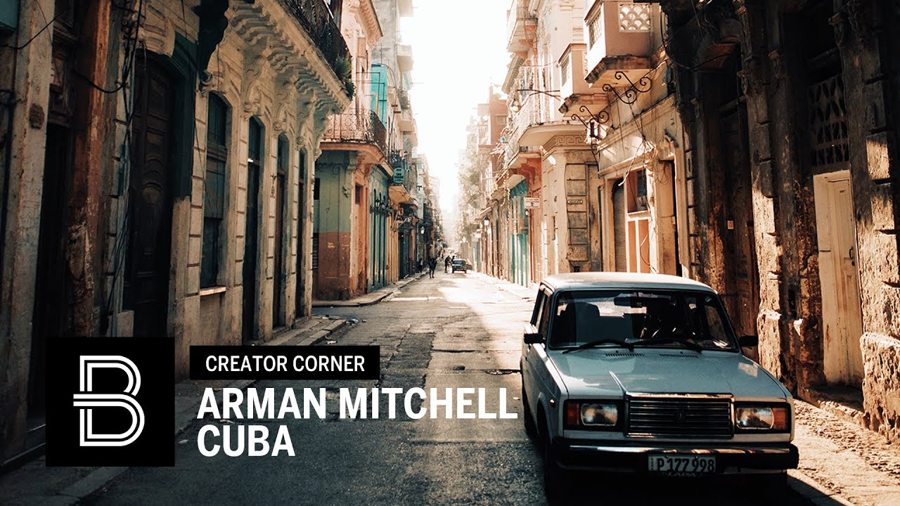 Arman Mitchell Takes Over Beautiful Destinations in Cuba