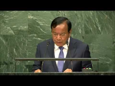 Speech  of H.E. Mr. Prak Sokhonn, Senior Minister, Minister of Foreign Affairs of Cambodia at UN