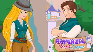 Disney Princess Rapunzel & Flynn Rider Tower Escape Funny Game for Kids