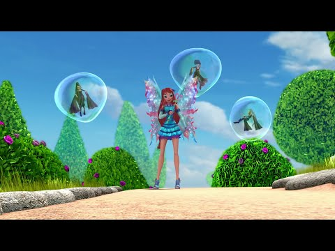 [HD] Winx Club:Winx Forever-Bloom defeats the Trix
