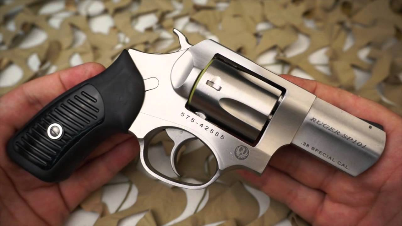 Ruger Sp101 38 357 Carry Single Double Action Revolver