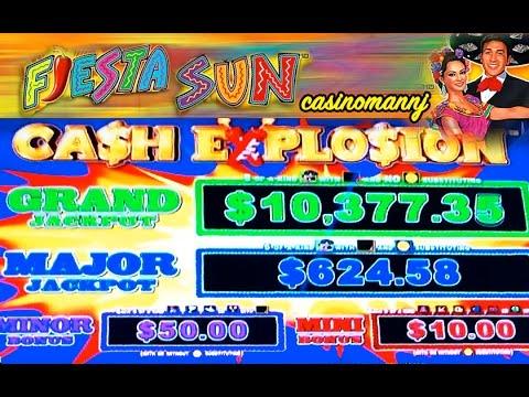 CASH EXPLOSION SLOT - PROGRESSIVES AND BONUS FEATURES! - Slot Machine Bonus