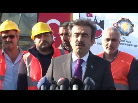 Diyarbakır Büyükşehir Belediyesi, Eğitim ve Araştırma Hastanesi girişini yeniliyor