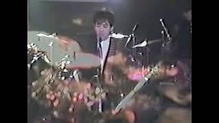 1986年、自業自得ライブ.