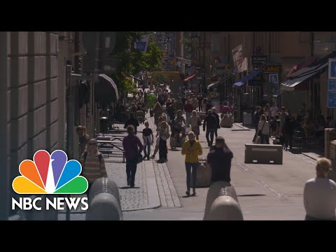 Sweden's 'Stay Open' Strategy Fails To Support Its Service Economy | NBC News NOW