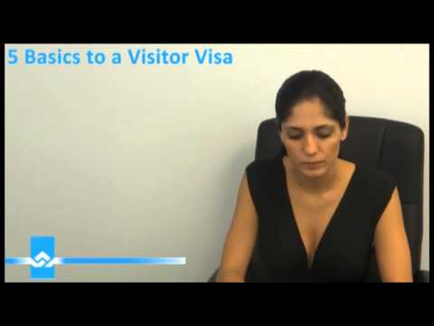 5 Basic Requirements for a Visitor Visa