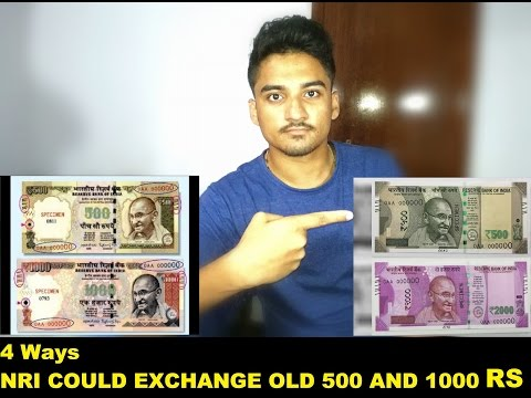 500 and 1000 exchange options for NRI