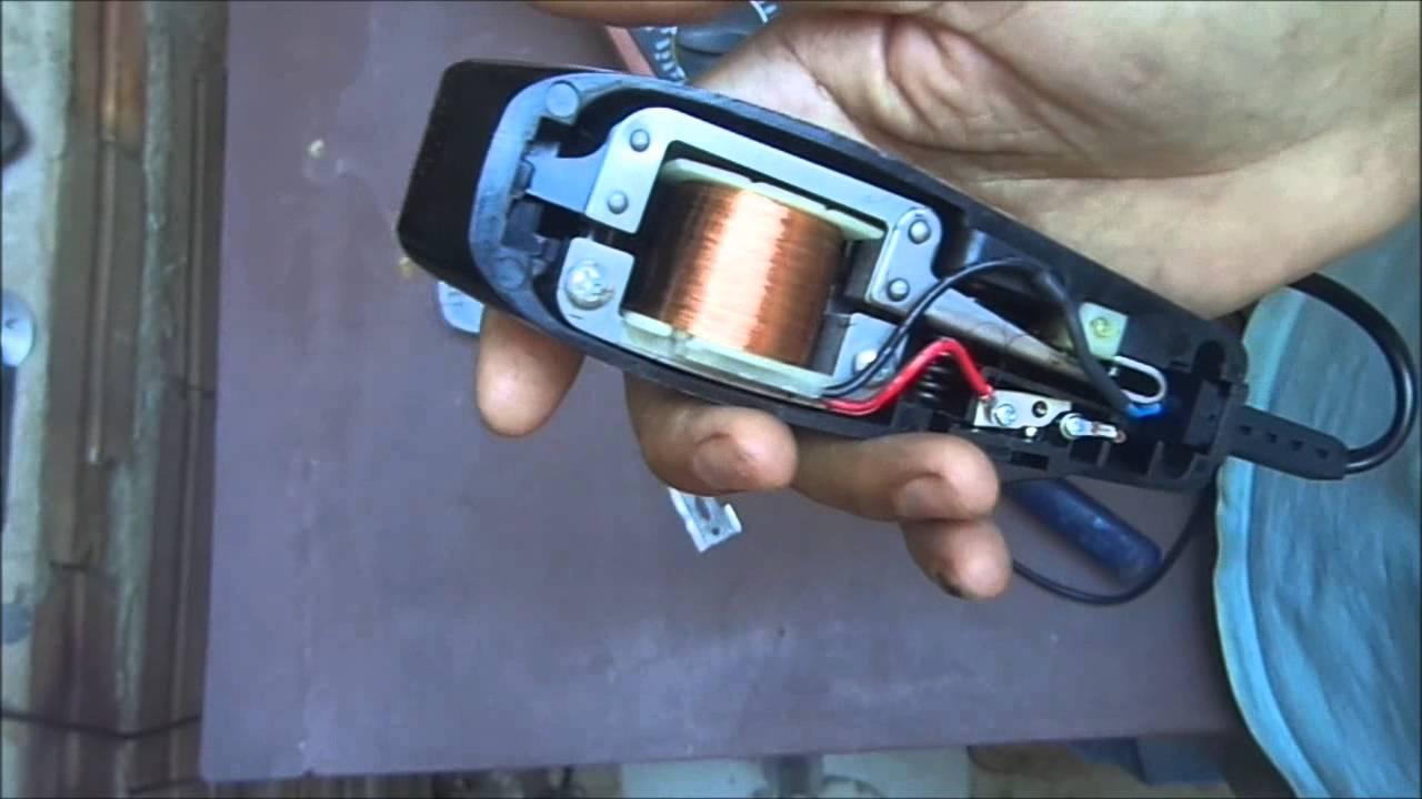 26c024523 Maquina de cortar cabelo 127V P 220V 2 - YouTube
