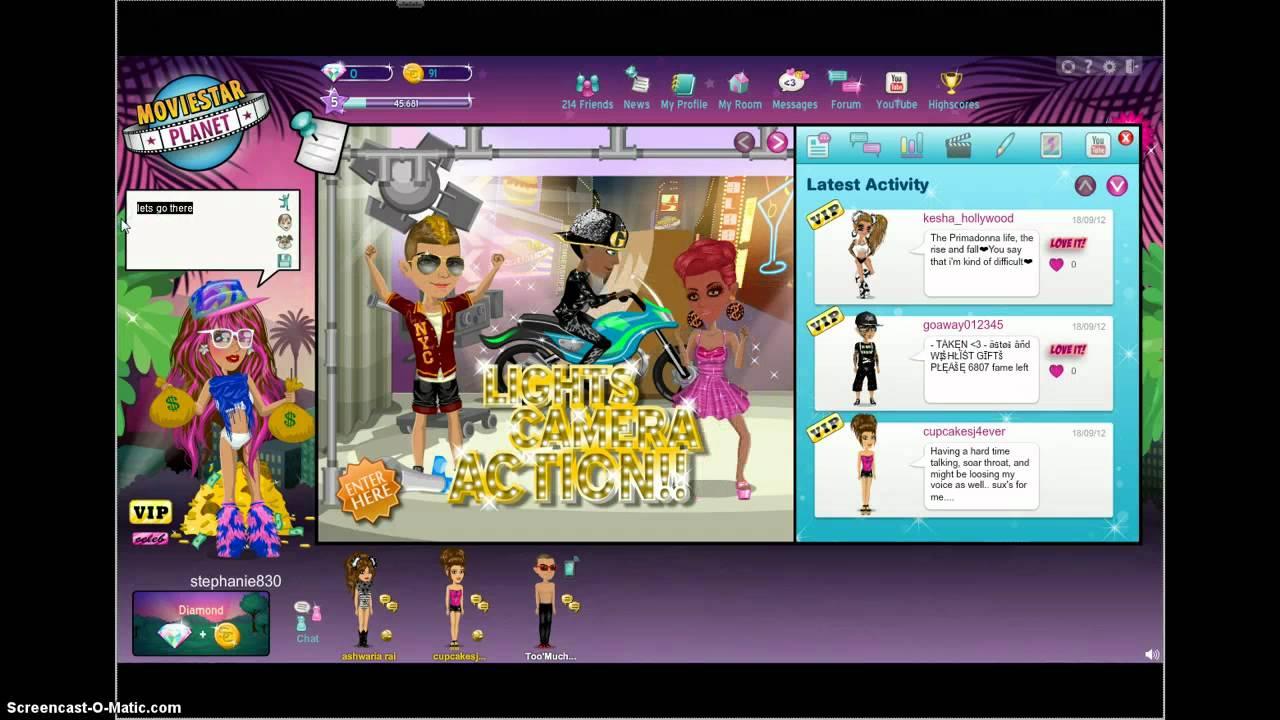 Cool online games like moviestarplanet with dating. solo los tontos se enamoran online dating.