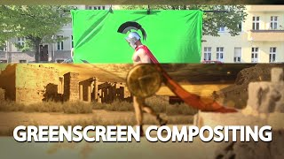 Green screen Speed Compositing in After Effects (300)