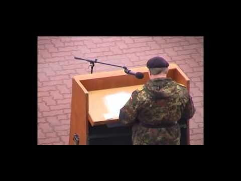 Rede von Generalmajor Trull im Januar 2005