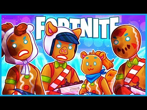 GENDER NEUTRAL GINGERBREAD PEOPLE in Fortnite: Battle Royale! (Fortnite Funny Moments & Fails)
