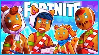 GENDER NEUTRAL GINGERBREAD PEOPLE à Fortnite: Battle Royale! (Fortnite Funny Moments - Échecs)