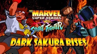 DARK SAKURA RISES - Sakura Legacy: Marvel Super Heroes Vs. Street Fighter (Arcade)