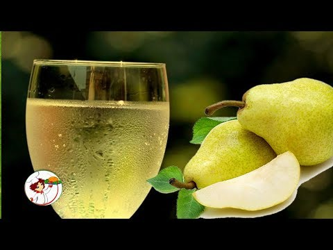 Рецепт вина из грушевого сока в домашних условиях