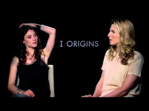 """Astrid Berges-Frisbey & Brit Marling""""I Origins"""" Stephen Holt Show"""