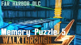 Fallout 4: Far Harbor - DiMA Memory 5th Puzzle Solution - VR Mission Walkthrough