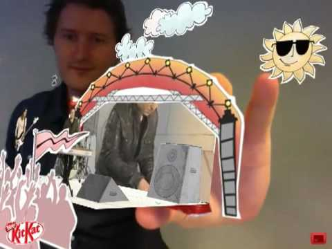 Scouting For Girls - Augmented Reality with Kit Kat
