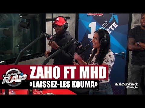 Zaho 'Laissez-les kouma' feat MHD en live #PlanèteRap