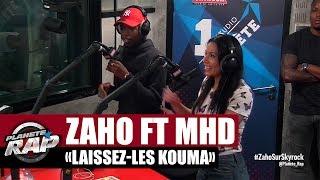 """Zaho """"Laissez-les kouma"""" feat MHD en live #Plane?teRap"""