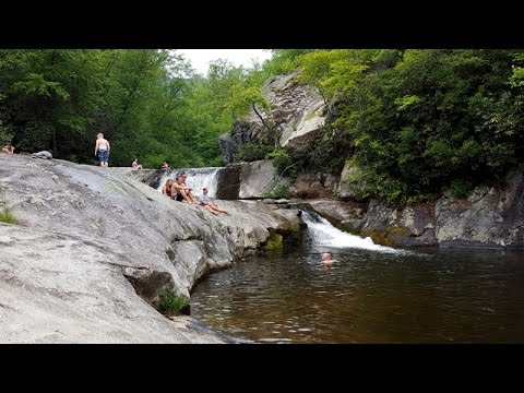 Hunt fish falls pisgah national forest nc youtube for Nc hunt and fish