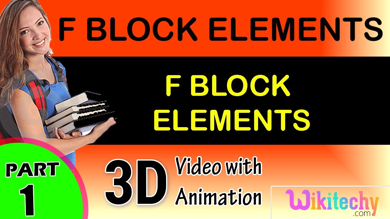D and f block elements class 12 ppt.