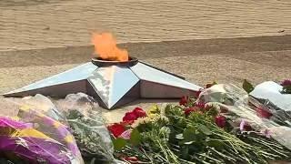 В день окончания Второй мировой уссурийцы почтили память павших