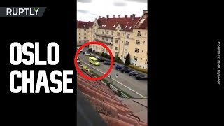 Police Open Fire As Oslo Ambulance Ramming Suspect Flees The Scene