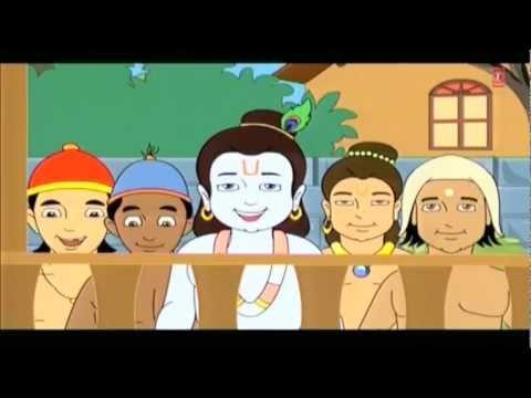 Short Animated Story Shri Krishna Baal Leela Marathi I Makhanchor Kanha I Shri Krishna Baal Leela