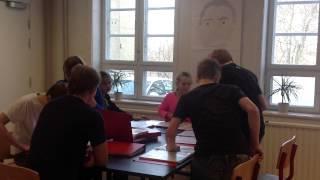 """""""Tænk før du taler"""" Tal ordentligt, Hørsholm Lille Skole, 9 orange, 2013"""