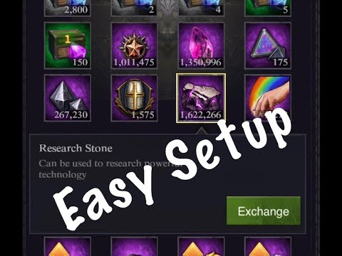 Clash Of Kings - Research Stone Hack - 25,000 Daily Free Guide