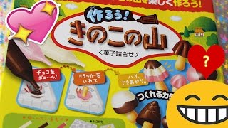 Assaggio Snack Giapponesi: Kit Funghetti Cioccolatosi! 😄😄😄