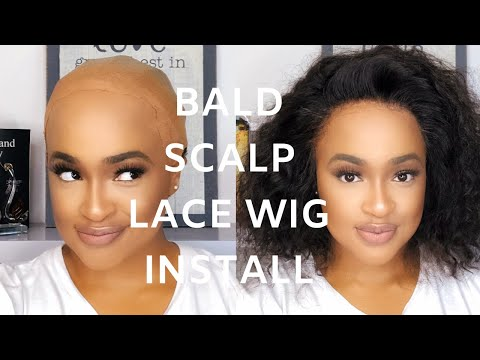 HIGHLY REQUESTED Bald Cap Tutorial For Flawless Lace Frontal Wig Install | KHANYI MADIKIZA thumbnail