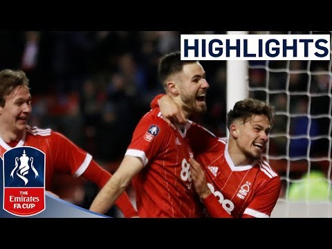 Nottingham Forest 4-2 Arsenal Official Highlights | Emirates FA Cup 2017/18