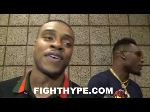 """ERROL SPENCE JABS KEITH THURMAN'S LACK OF KNOCKOUTS: """"Y'ALL SHOULD NAME ME ONE TIME"""""""