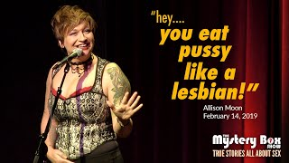 The Queerest Love Story: Allison Moon @ The Mystery Box Show