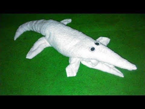ALLIGATOR - BUAYA - CROCODILE - MY TOWEL CREATION
