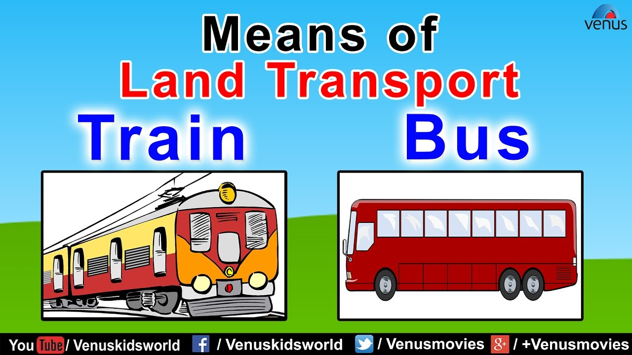 Means Of Land Transport (Part- 1)