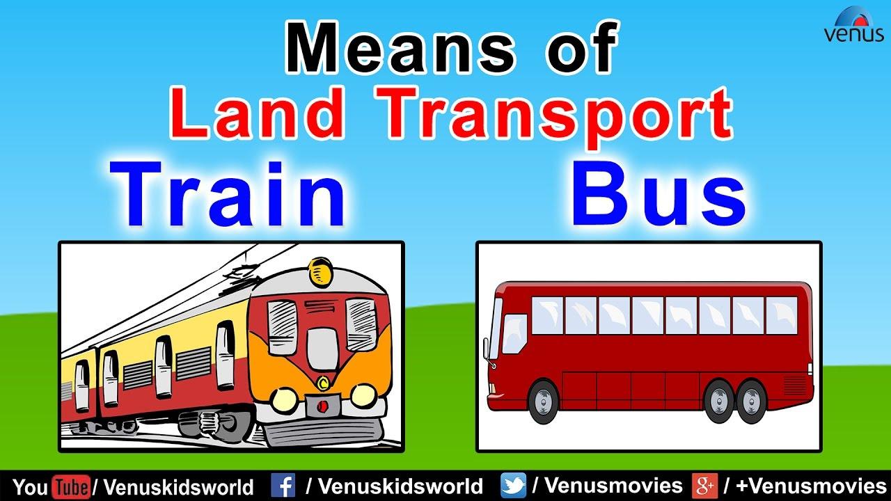 Means of Land Transport (Part- 1) ~ World Of Transport