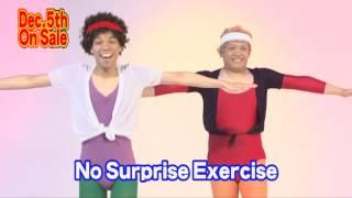 "No Surprise Exercise short promotion  COWCOW""atarimae taisou"""