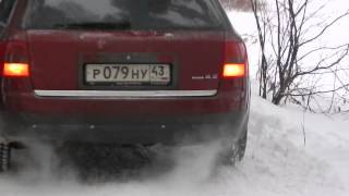 Audi A6 Avant 4.2 Quattro acceleration(audiclub43.ru., 2013-12-22T22:39:02.000Z)