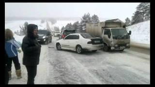 Страшные автоаварии в Иркутске!