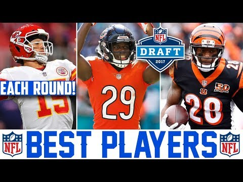2017 NFL Draft Best Players From Each Round